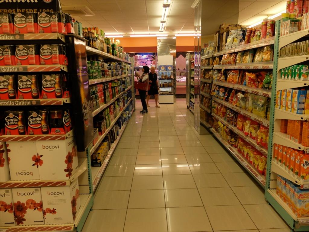 スーパーマーケットの様子_2