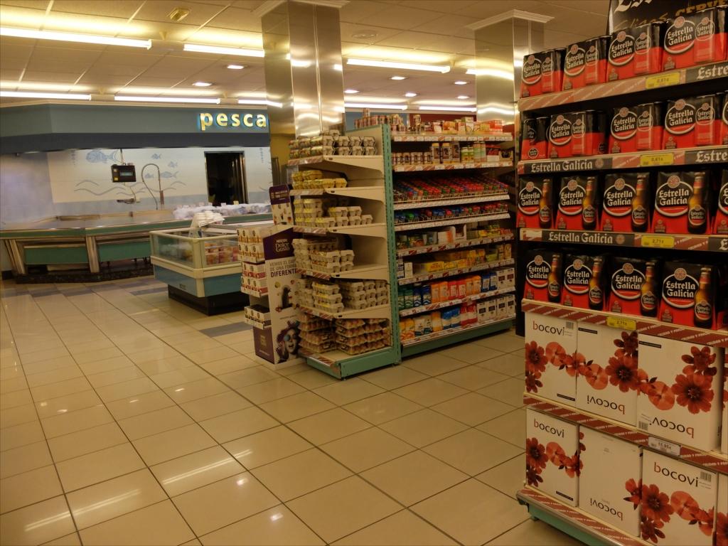 スーパーマーケットの様子_3