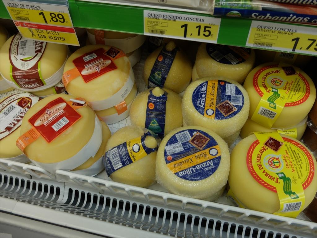 おっぱい型のチーズ