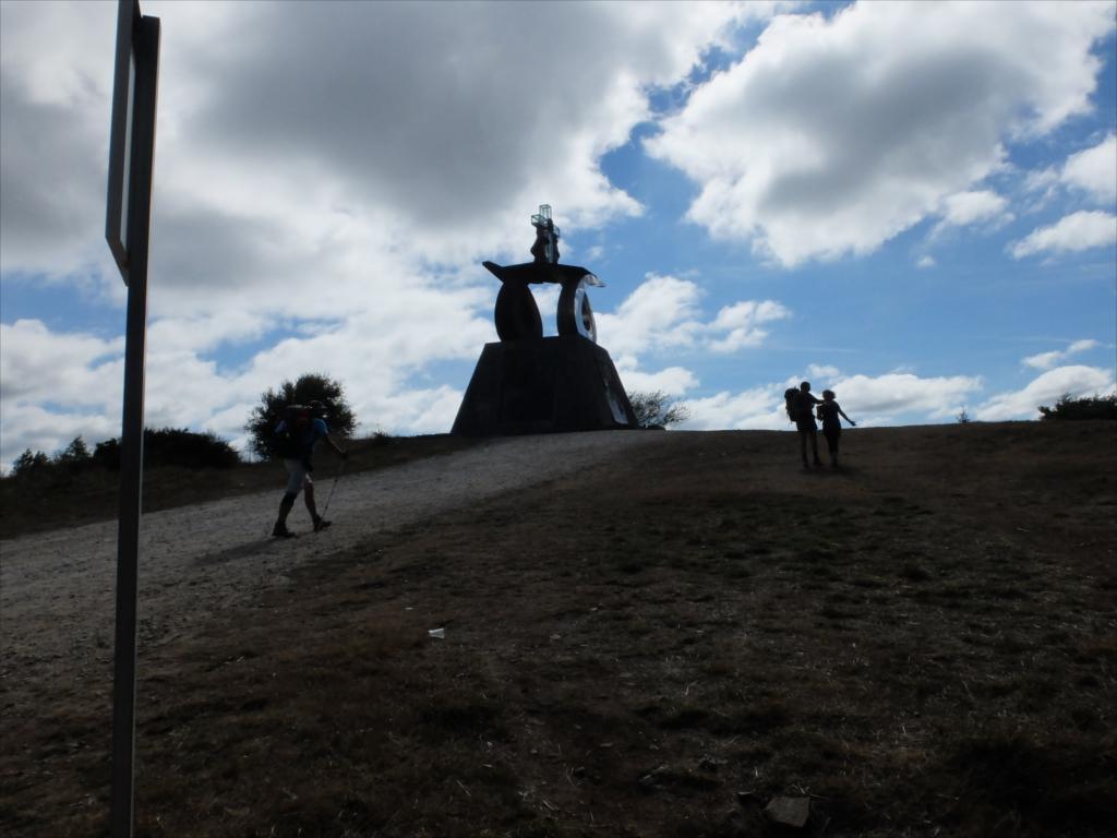 教皇ヨハネ・パウロ2世がサンティアゴを訪れた記念碑_1