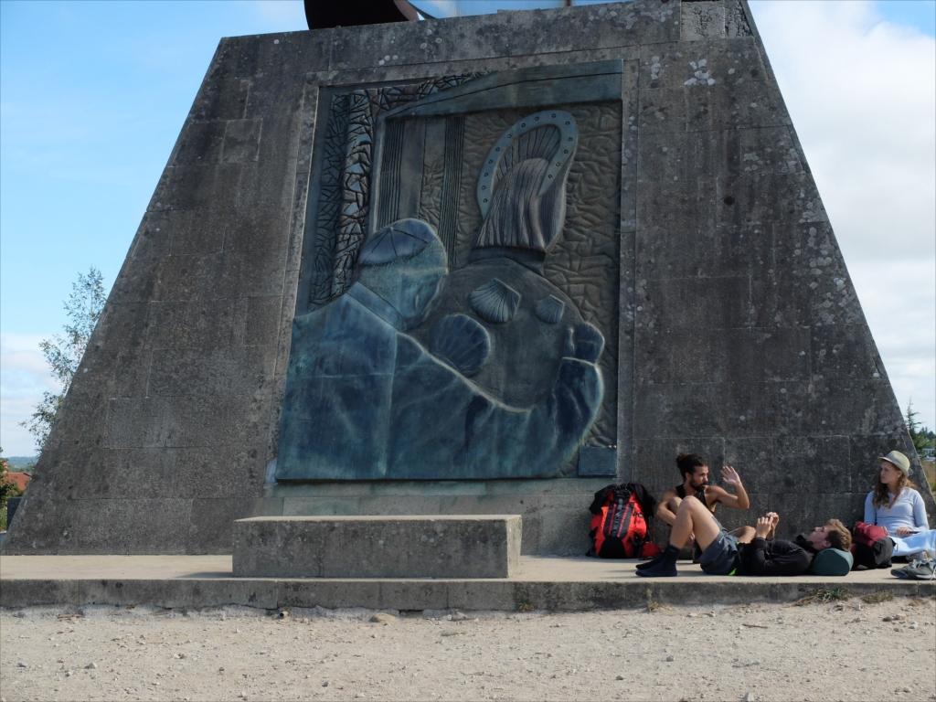 教皇ヨハネ・パウロ2世がサンティアゴを訪れた記念碑_3