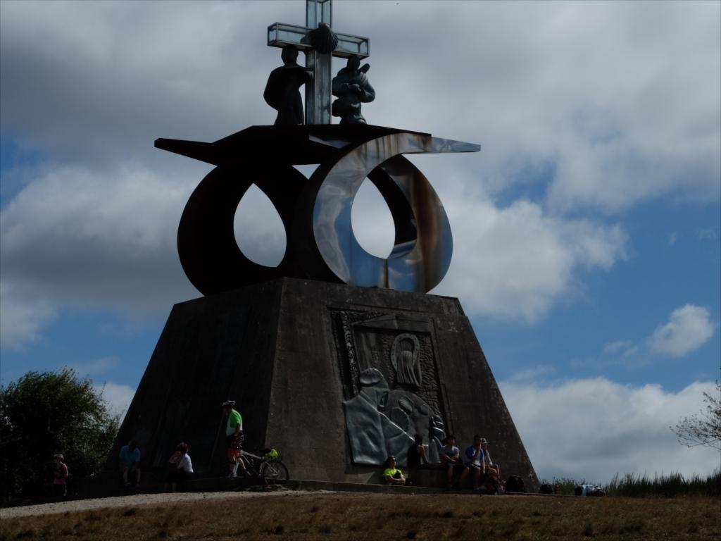 教皇ヨハネ・パウロ2世がサンティアゴを訪れた記念碑_7
