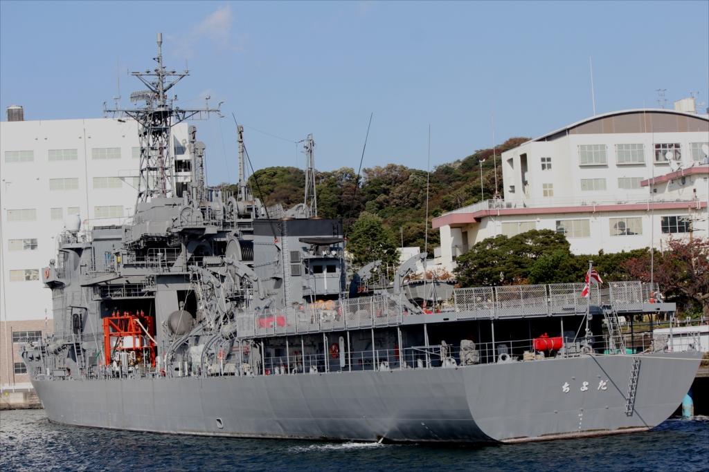 潜水艦救難母艦 AS-405 ちよだ_1