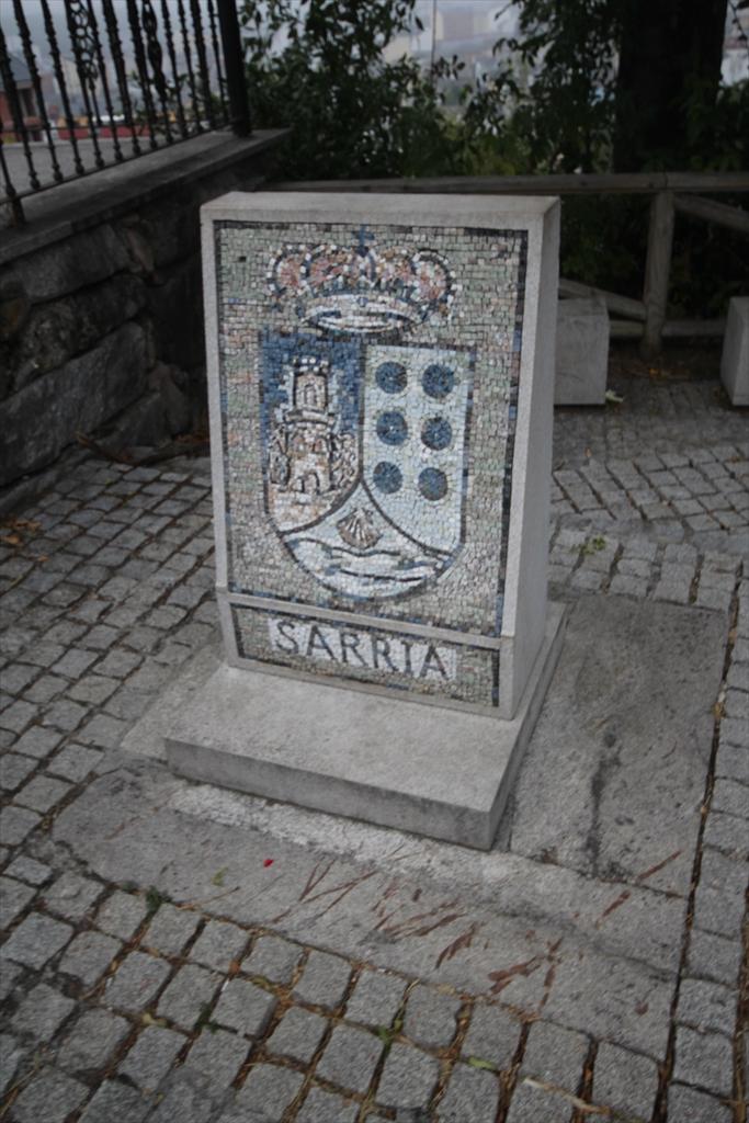 サリアの街の様子_13…多分サリアの街の紋章なのだろう