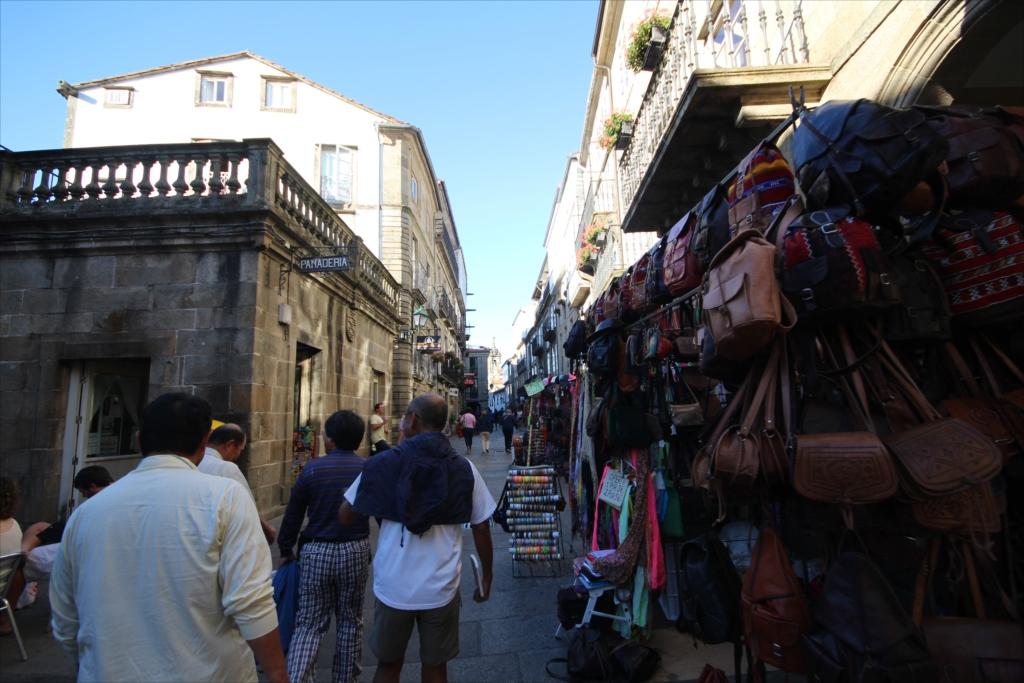 モロッコの皮革のカバン
