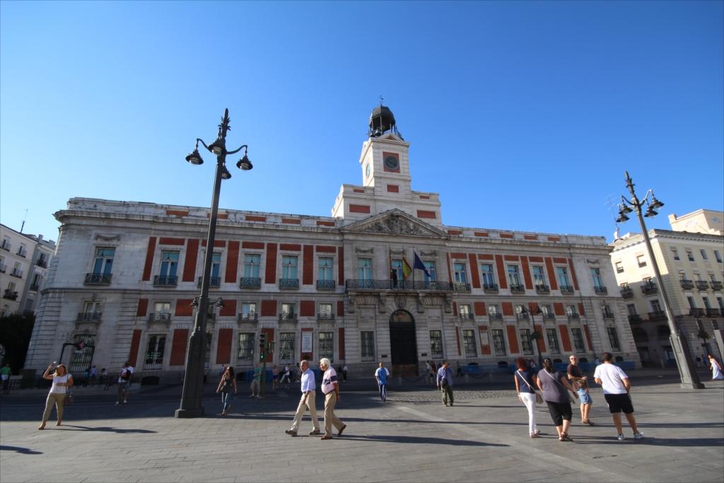 Fachada principal de la Casa de Correos, en la Puerta del Sol_1