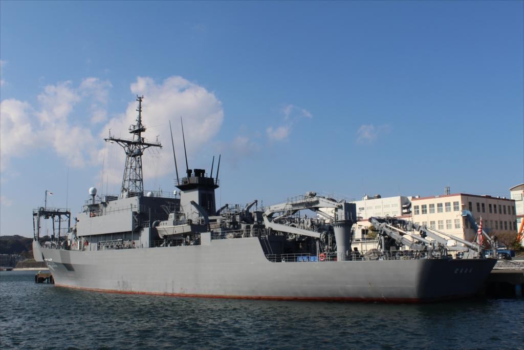 海上自衛隊 海洋観測艦 AGS-5105 にちなん_2