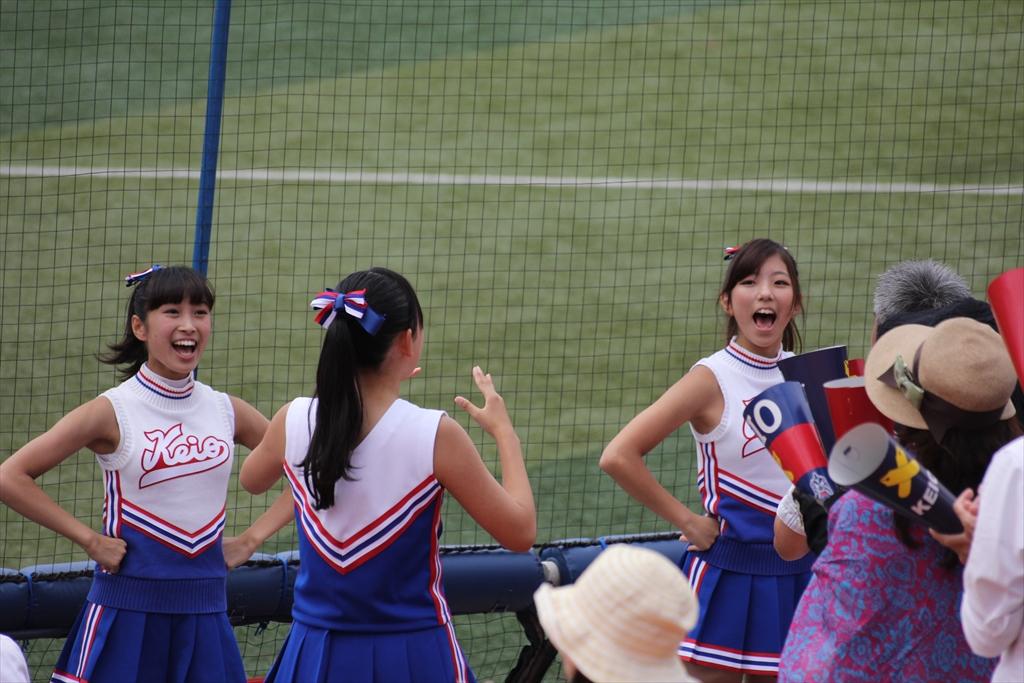 慶應義塾女子高校のチアリーディング_3