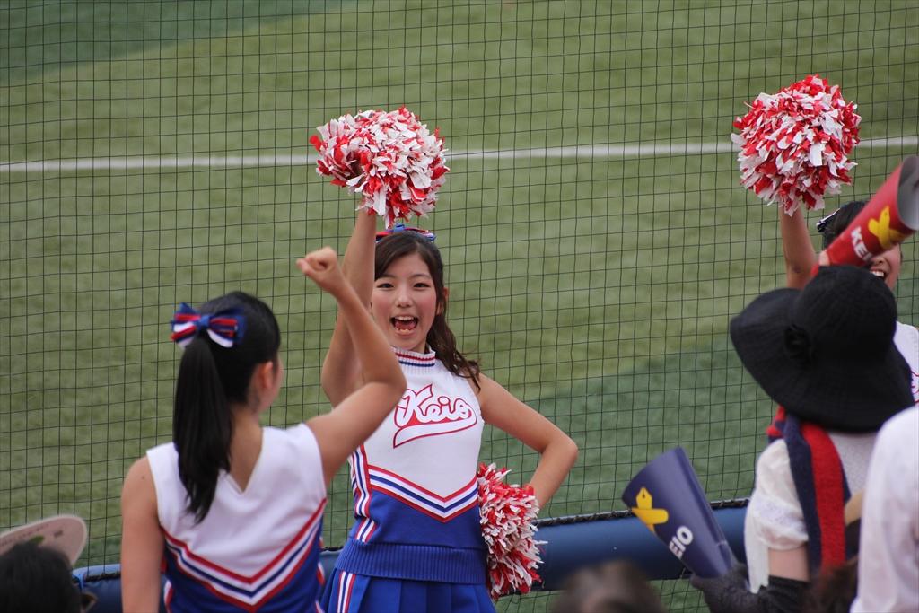 慶應義塾女子高校のチアリーディング_4