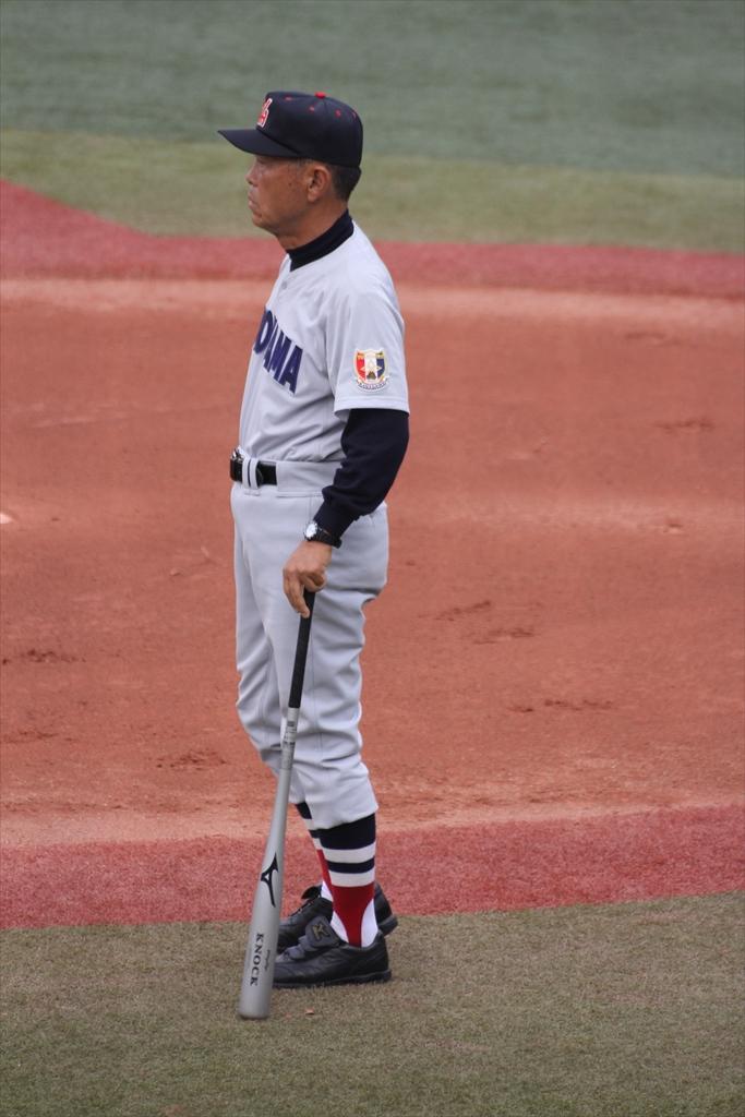 横浜の試合前練習_1