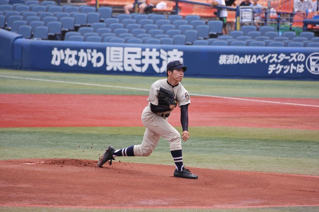 桐蔭先発斎藤の投球フォーム_3