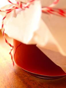 赤毛のアンのイチゴ水つくりました