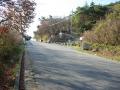 141122一軒茶屋前と、山頂への激坂
