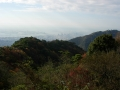 141122ケーブル六甲山上駅から遠目に神戸市街