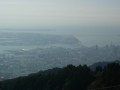 141122摩耶山掬星台展望台からポートアイランド方面