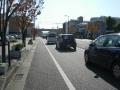 141122夙川付近の渋滞