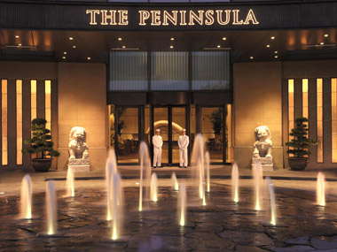 ペニンシュラ入口