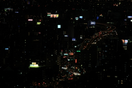 夜の吹上。_800