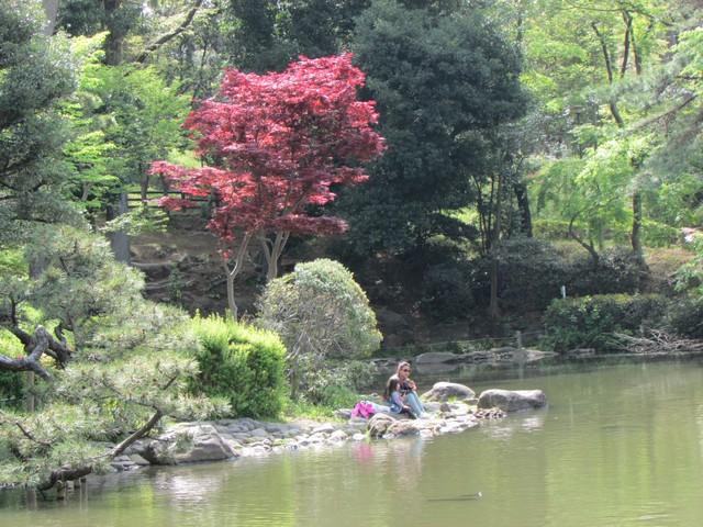有栖川公園池