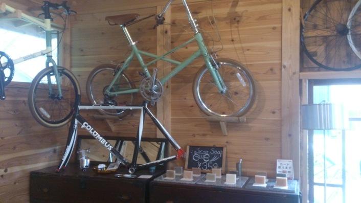 石鹸&自転車
