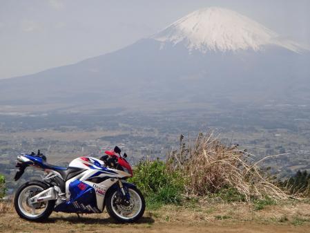 CBRと富士山(テレ端)