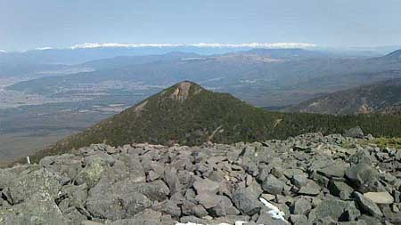 西岳・霧ヶ峰・美ヶ原・北アルプス