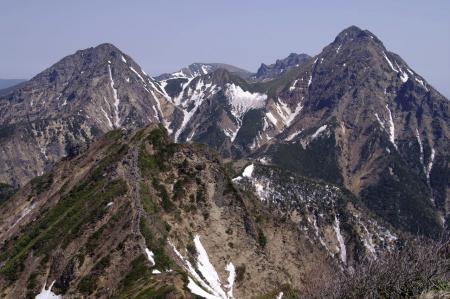 八ヶ岳主峰群