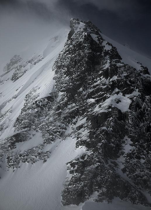 130429 奥穂岩峰