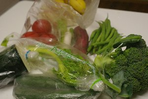 のこり野菜