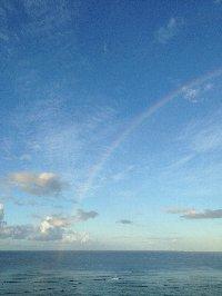 ハワイ3虹