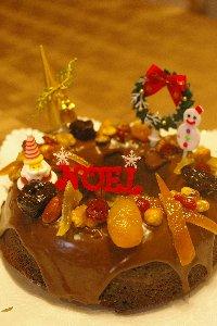2013 クリスマスケーキ1