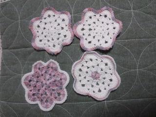 お花のコースター2