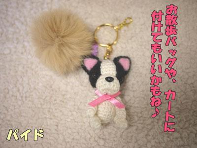 フレンチブルドッグ 編みぐるみ 5