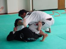 柔術新聞-ヴァンダレイ選手打ち込み
