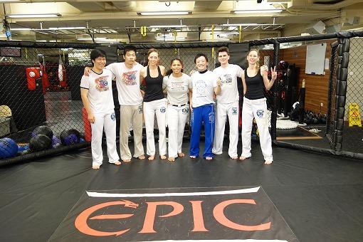 Capoeira Brasil Hong kongのみなさんと