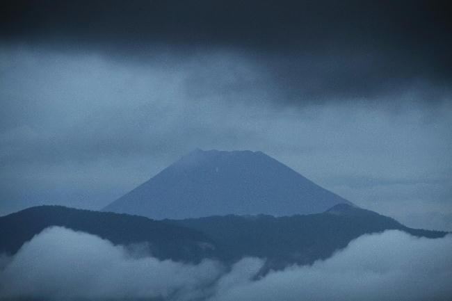 21日 5-10 今朝の富士山