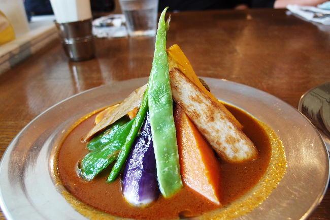 スープ野菜カレー1