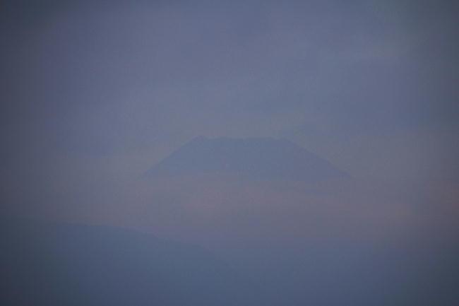 29日 5-34 今朝の富士山
