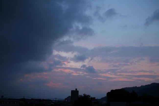 30日 5-09 東の空