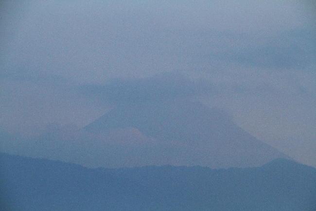 13日 5-42 今朝の富士山