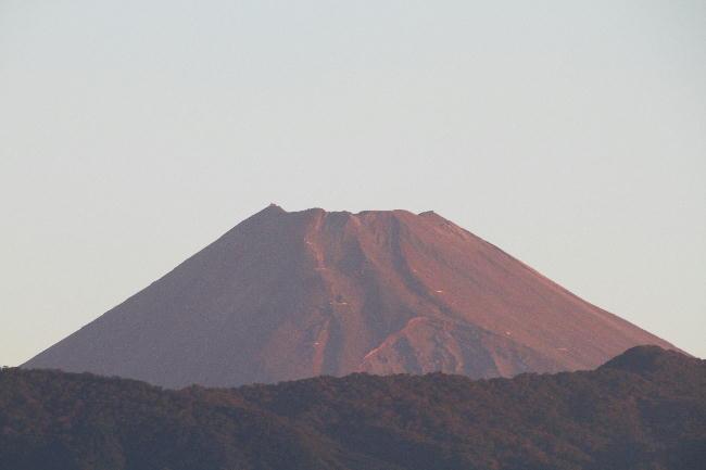 17日 5-36 今朝の富士山