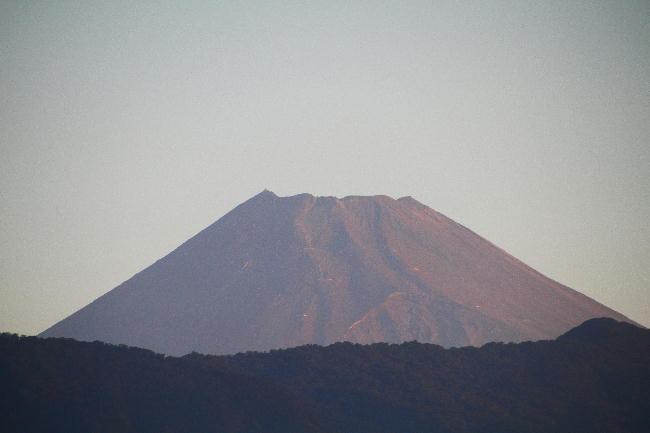 19日 5-44 今朝の富士山