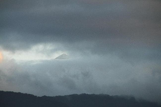 29日 5-59 今朝の富士山
