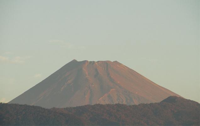 30日 5-58 今朝の富士山