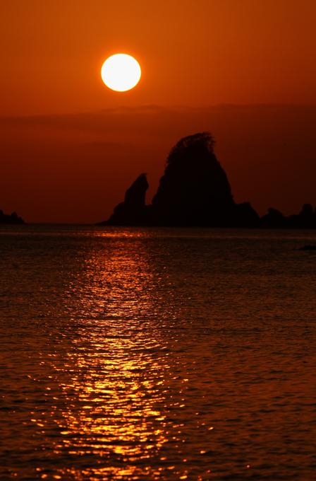 太田子の夕陽-1-1