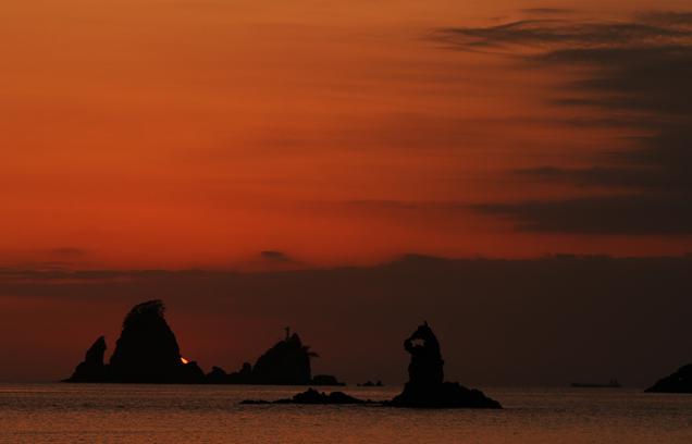 太田子の夕陽-5