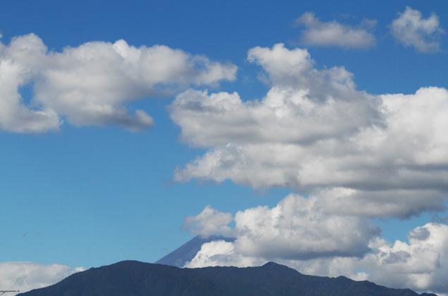 6日 13-54 今日の富士山-1