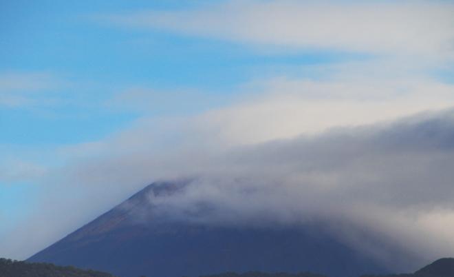 16日 7ー29 今朝の富士山