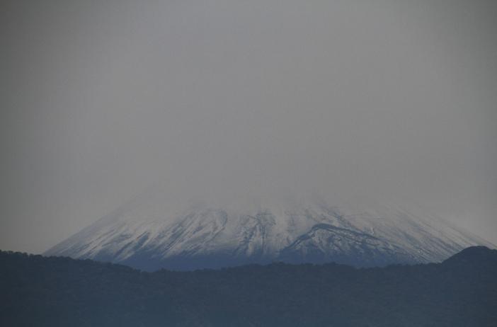 19日 11ー38 初冠雪