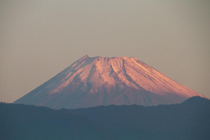 31日 6ー07 今朝の富士山-4